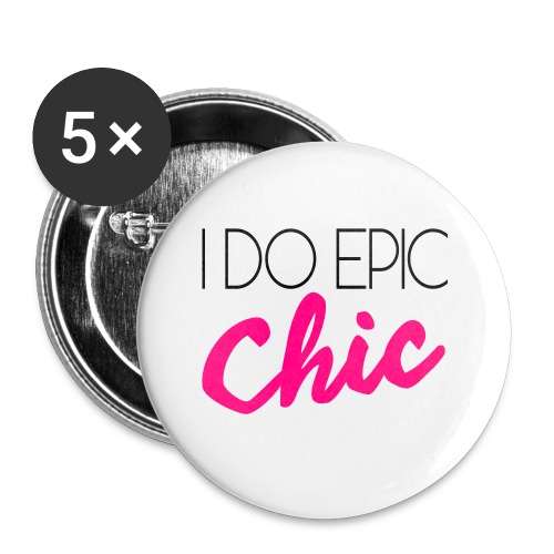 I Do Epic Chic! - Small Buttons