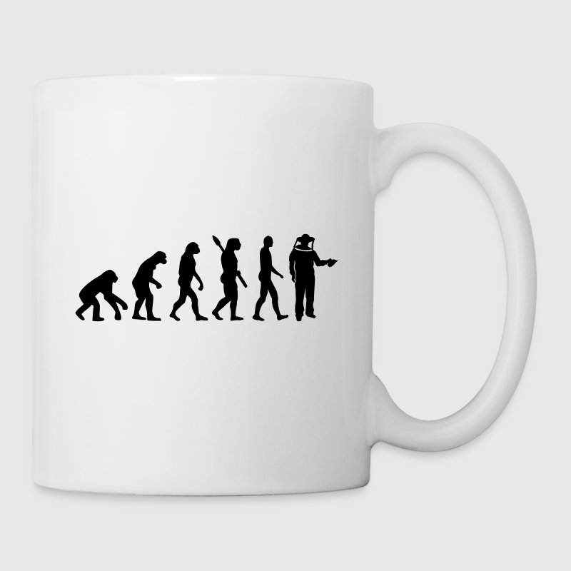 Evolution Beekeeper Mugs & Drinkware - Coffee/Tea Mug