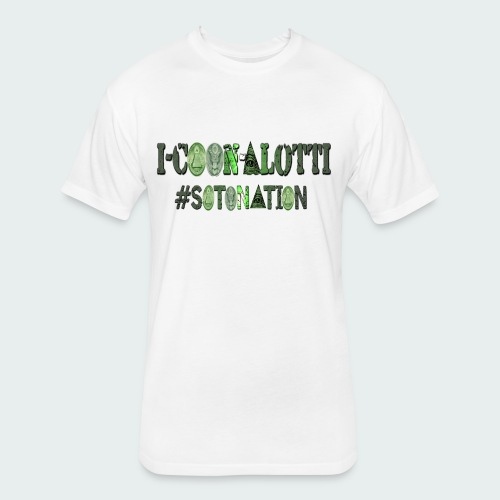 I COON ALOTTI - Fitted Cotton/Poly T-Shirt by Next Level