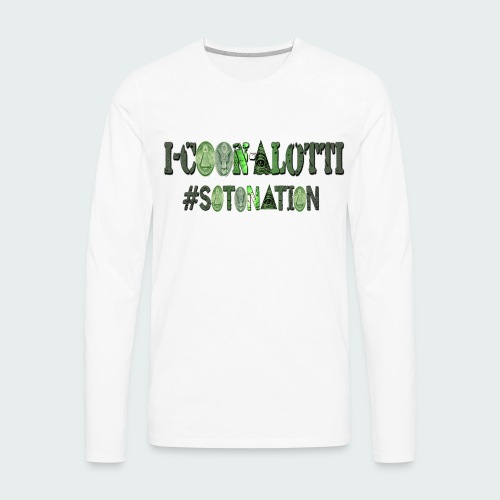 I COON ALOTTI - Men's Premium Long Sleeve T-Shirt
