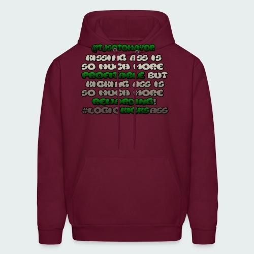 KISSING ASS IS ..... - Men's Hoodie