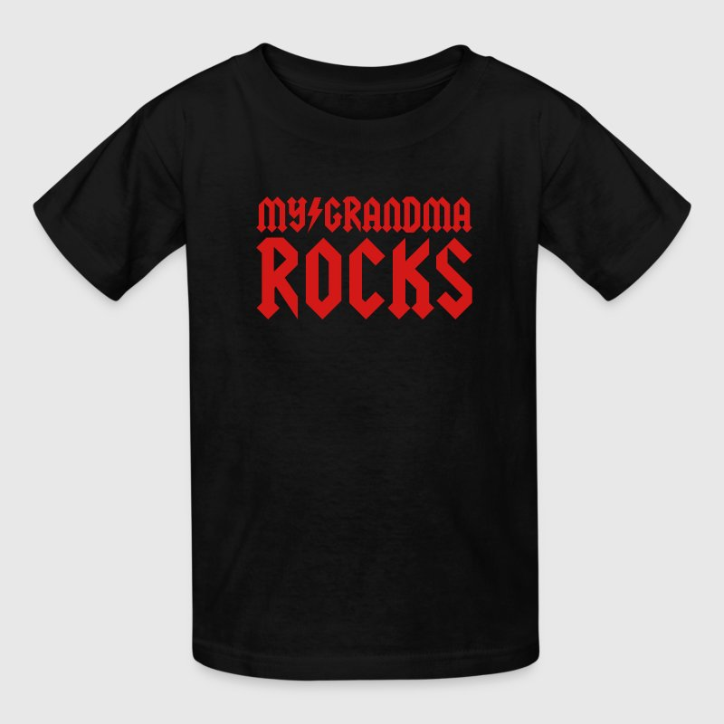 My grandma rocks Kids' Shirts - Kids' T-Shirt
