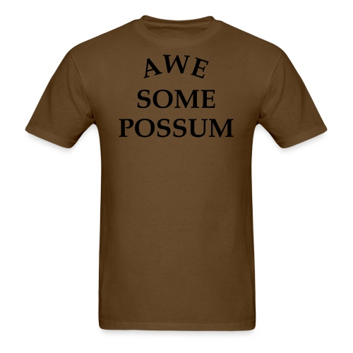 Awesome Possum - Men's T-Shirt