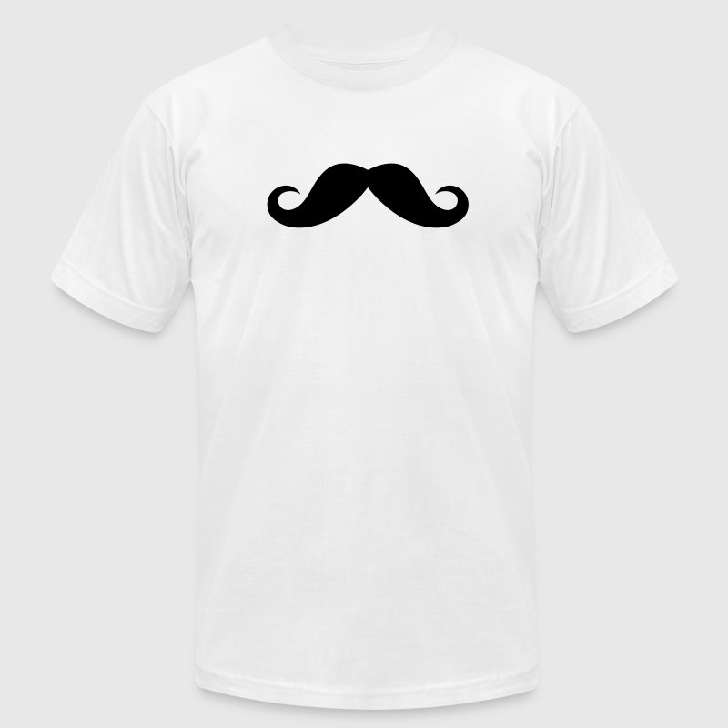 British moustache T-Shirts - Men's T-Shirt by American Apparel
