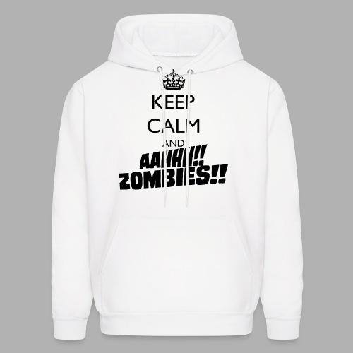Keep Calm Zombies - Men's Hoodie