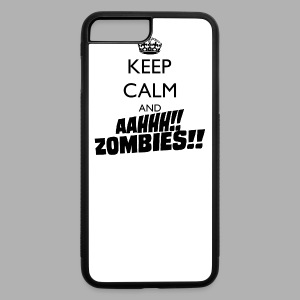 Keep Calm Zombies - iPhone 7 Plus Rubber Case
