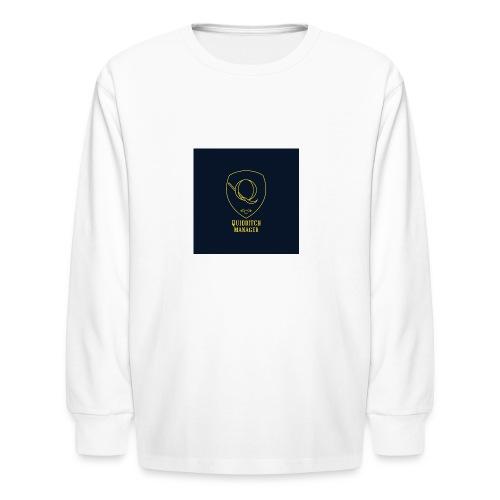 Buttons - Kids' Long Sleeve T-Shirt