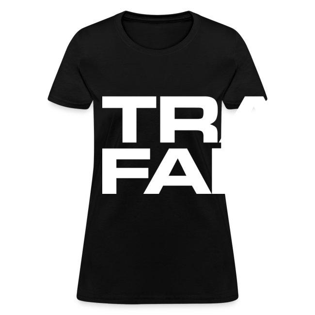 Women's Premium T-Shirt (white font)