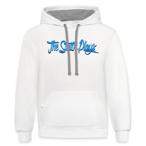 TheSmithPlays Classic Blue - Contrast Hoodie