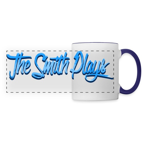 TheSmithPlays Classic Blue - Panoramic Mug