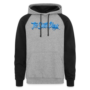 TheSmithPlays Classic Blue - Colorblock Hoodie