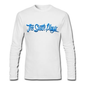 TheSmithPlays Classic Blue - Men's Long Sleeve T-Shirt by Next Level