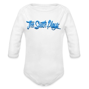 TheSmithPlays Classic Blue - Long Sleeve Baby Bodysuit
