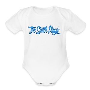 TheSmithPlays Classic Blue - Short Sleeve Baby Bodysuit