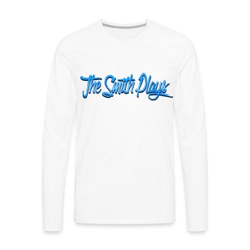 TheSmithPlays Classic Blue - Men's Premium Long Sleeve T-Shirt