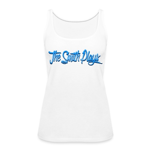 TheSmithPlays Classic Blue - Women's Premium Tank Top