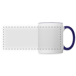 Peace Out Nerds White Text - Panoramic Mug