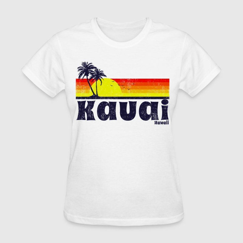 Kauai Hawaii Women's T-Shirts - Women's T-Shirt