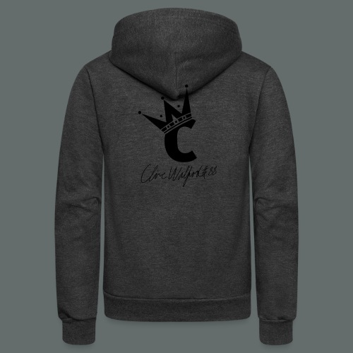 Men's T-Shirt - Unisex Fleece Zip Hoodie