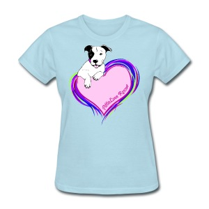 PittieLove Rescue Logo - Women's T-Shirt
