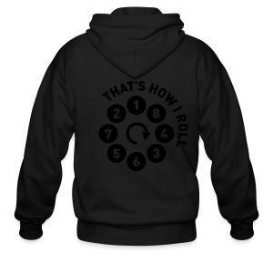 Rolling the V8 way - Men's Zip Hoodie