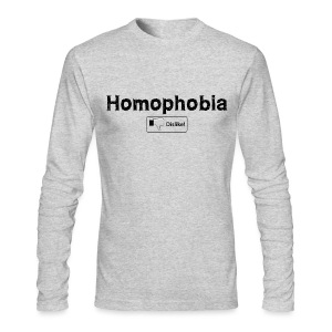 Homophobia Dislike T-Shirts - Men's Long Sleeve T-Shirt by Next Level