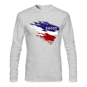 Les Miserables 24601 v3 T-Shirts - Men's Long Sleeve T-Shirt by Next Level