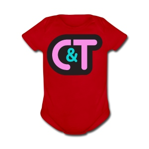 C&T Ladies PINK - Short Sleeve Baby Bodysuit