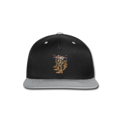 Thank You Veterans Boots - Snap-back Baseball Cap