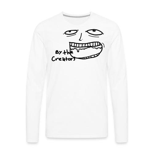 By The Creators Chomp Tee - Men's Premium Long Sleeve T-Shirt