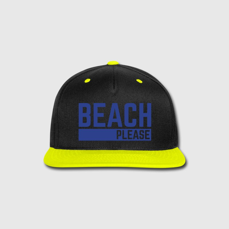 Beach Please  Caps - Snap-back Baseball Cap