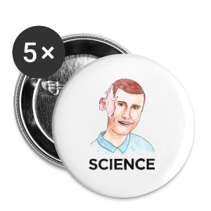 SCIENCE - T-shirt (Choose Color) - Small Buttons