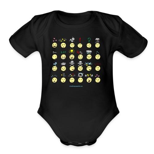 Upfixes galore! - Organic Short Sleeve Baby Bodysuit