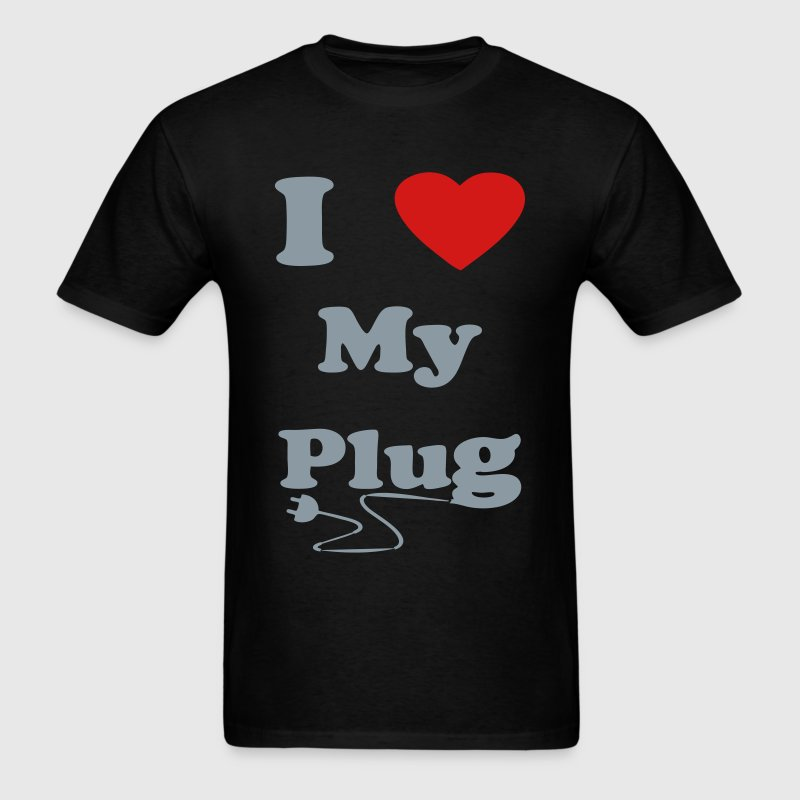 i love my plug official T-Shirts - Men's T-Shirt