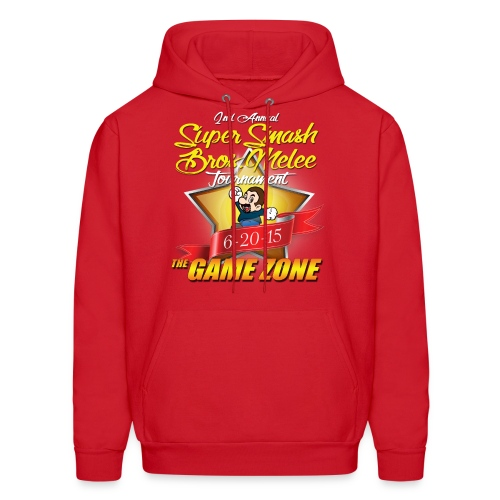 2nd Annual Super Smash Melee Tournament  - Men's Hoodie