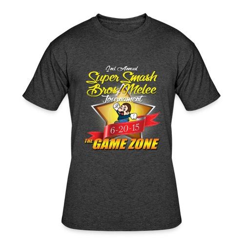 2nd Annual Super Smash Melee Tournament  - Men's 50/50 T-Shirt