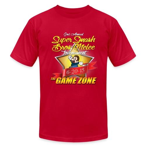 2nd Annual Super Smash Melee Tournament  - Men's Fine Jersey T-Shirt