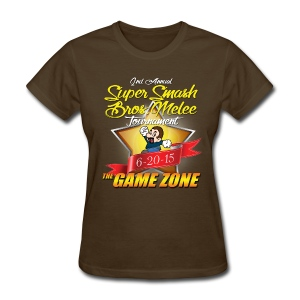 2nd Annual Super Smash Melee Tournament  - Women's T-Shirt