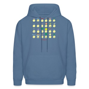 Unusual upfixes - Men's Hoodie