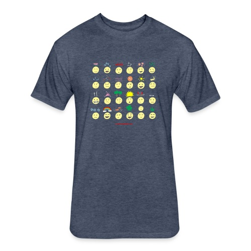 Unusual upfixes - Fitted Cotton/Poly T-Shirt by Next Level