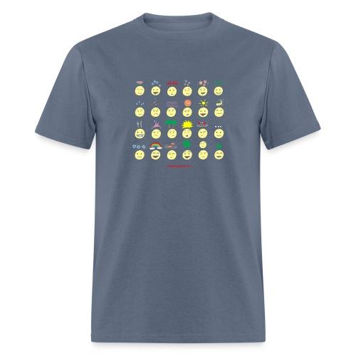 Unusual upfixes - Men's T-Shirt