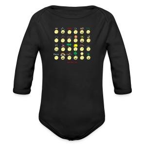 Unusual upfixes - Long Sleeve Baby Bodysuit
