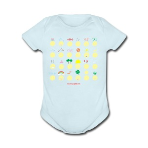 Unusual upfixes - Short Sleeve Baby Bodysuit
