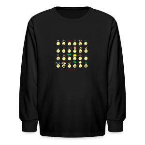 Unusual upfixes - Kids' Long Sleeve T-Shirt