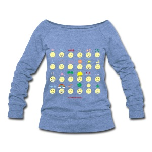 Unusual upfixes - Women's Wideneck Sweatshirt