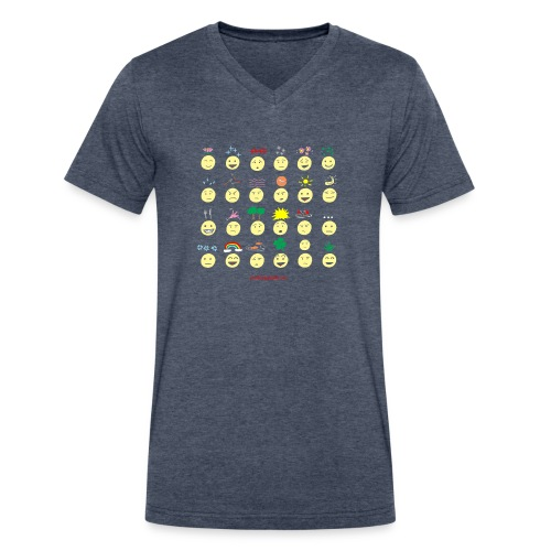 Unusual upfixes - Men's V-Neck T-Shirt by Canvas