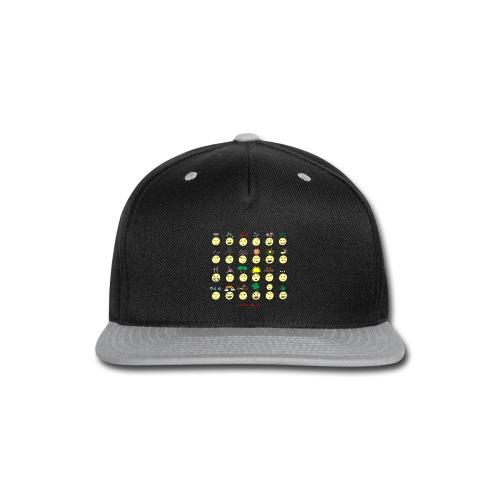 Unusual upfixes - Snap-back Baseball Cap
