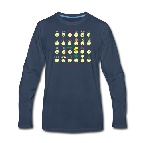 Unusual upfixes - Men's Premium Long Sleeve T-Shirt