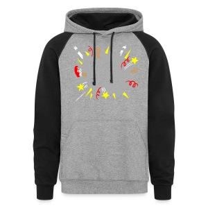 The Rules of Fight Cloud - Colorblock Hoodie