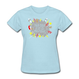 The Rules of Fight Cloud - Women's T-Shirt